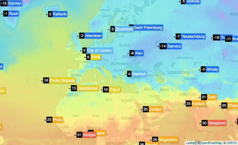 openweather map