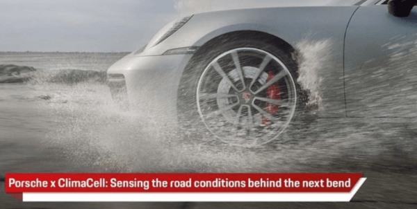 Porsche Seeks to Predict Upcoming Weather Conditions for Drivers With ClimaCell