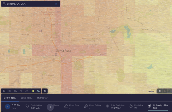 air quality data climacell