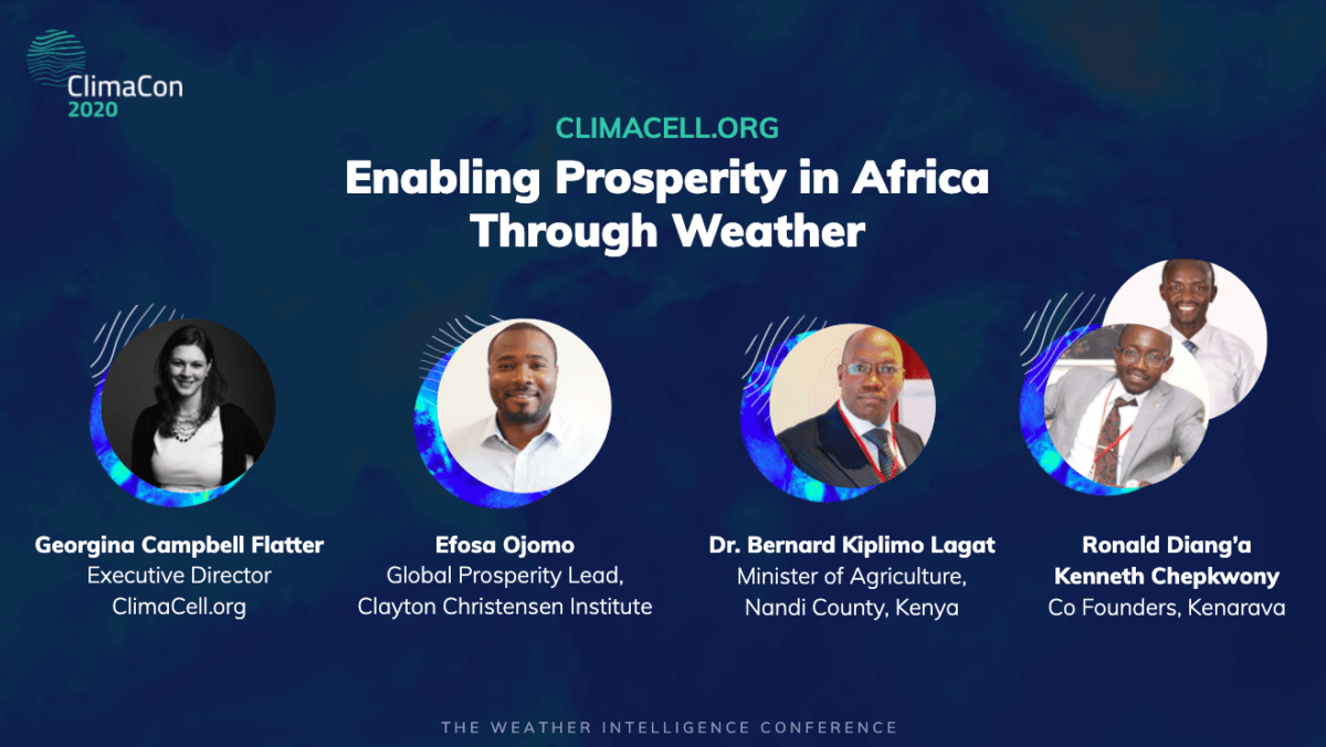 The Missing Link To Agricultural Prosperity in Africa: Weather Intelligence