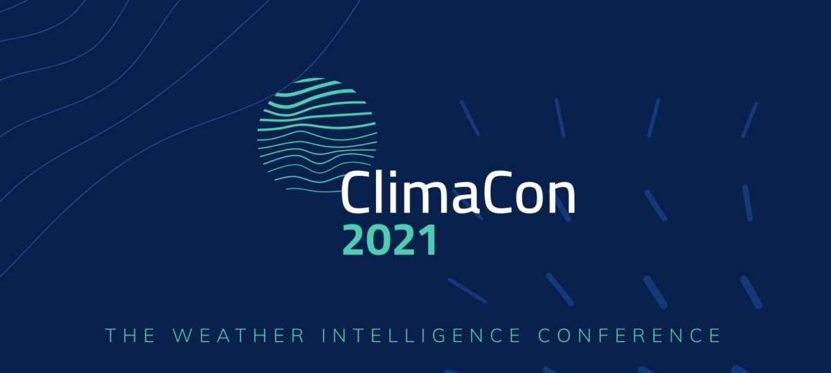 Announcing ClimaCon 2021, the Second Annual Weather Intelligence Conference
