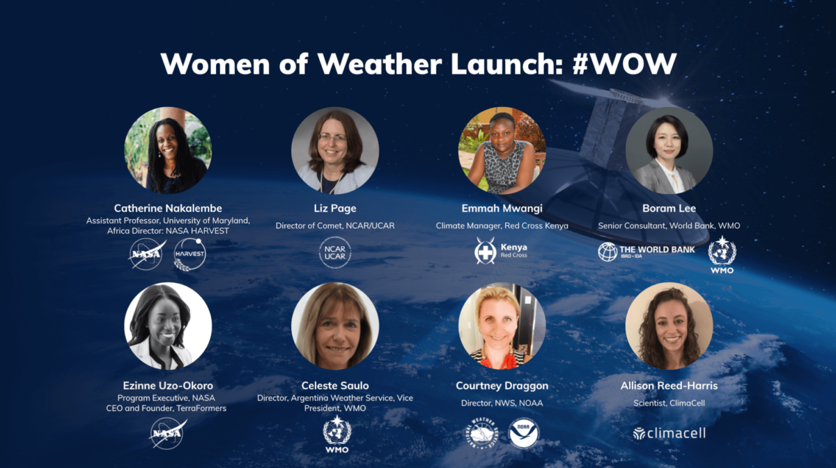 Women of Weather: A New Series Featuring Incredible Women Leading Change in Weather and Climate